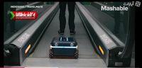 چمدانی که مسافر را همراهی میکند! +فیلم