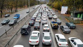 ترافیک در محور هراز سنگین است