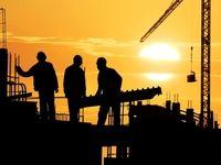 کارگران ساختمانی مشغول کارند!/ قوانین کارگری بسته به شعور کار فرما اجرا میشود