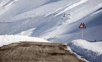 ارتفاعات الیگودرز پوشیده از برف +عکس