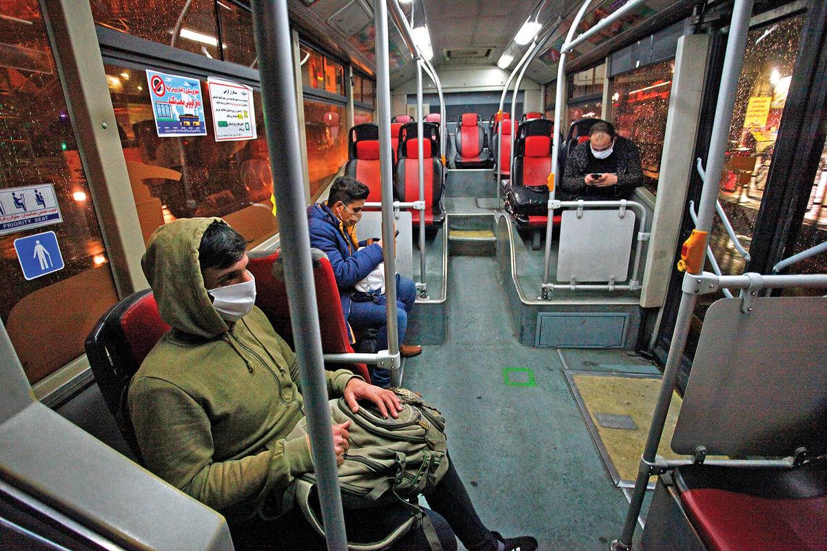 همراهی ناوگان حملونقل عمومی با شهروندان