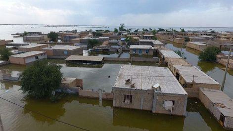 آخرین وضعیت سیل در خوزستان از دریچه دوربین اقتصادآنلاین