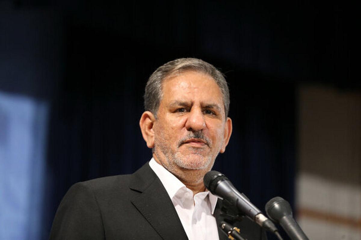جهانگیری: ملت ایران به دنبال پیشرفت، آزادی و توسعه است