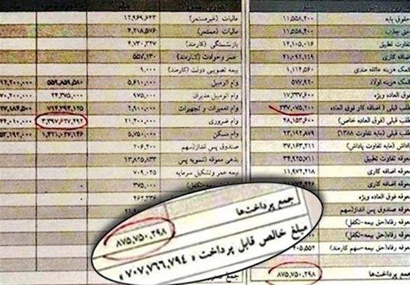انتشار فیش حقوقی نمایندگان مجلس از شهریور ماه +جزئیات