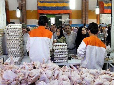 کم فروشی مرغ بهجای گران فروشی