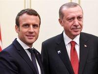 فرانسه به ترکیه در مقابله با تحریمهای آمریکا کمک میکند