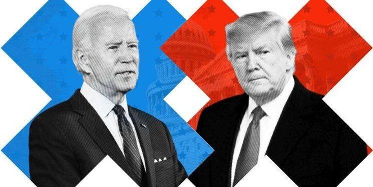 طرفداران ترامپ و بایدن زیر بار شکست میروند؟