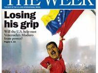 سقوط مادورو بر روی جلد هفته نامه