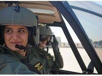 زنان در نیروی هوایی لبنان برای اولین بار +عکس
