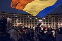 تظاهرات علیه فساد دولتی در رومانی +تصاویر