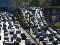 تهران بدون طرح ترافیک به روایت تصویر