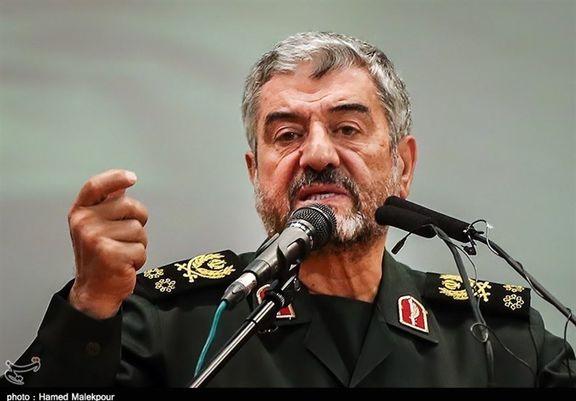 واکنش فرمانده سپاه به اظهارات وزیر خارجه آمریکا