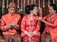جشن ازدواج تنها دختر رییسجمهور اندونزی +تصاویر