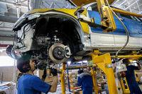 تولید بیش از ۴۳هزار دستگاه خودرو در ایران خودرو خراسان