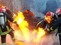 انفجار وحشتناک در جایگاه گاز مایع قم +عکس