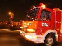 آتشسوزی یک مرکز تجاری در میدان امام حسین