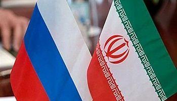 تجارت ایران و روسیه محدود است