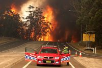 شهرهای استرالیا در محاصره آتش +تصاویر
