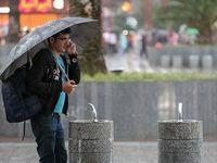 بارش باران در محورهای گیلان