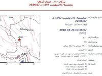 زلزله ۴ ریشتری در کرمان
