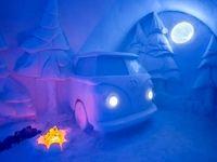 هتل شگفتانگیز یخی در سوئد +عکس