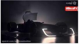 خودروی رنو برای مسابقات فرمول۱ +فیلم