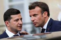 گفتوگوی روسای جمهور اوکراین و فرانسه درباره سقوط هواپیما
