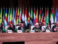 رئیس جمهور در اجلاس سران عدم تعهد در باکو +تصاویر