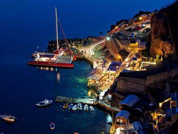 تصاویری منحصربفرد از جزیره جادویی سانتورینی یونان