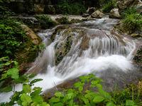 آبشاری شگفت انگیر در دل جنگلهای گلستان +تصاویر