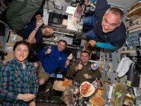 تصاویری دیده نشده از زندگی در ایستگاه فضایی