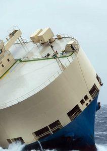 غرق شدن کشتی مدرن اکسپرس +عکس
