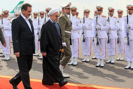 روحانی تهران را به مقصد آنکارا ترک کرد