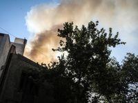 انفجار و آتشسوزی خونین در یک کارگاه +تصاویر