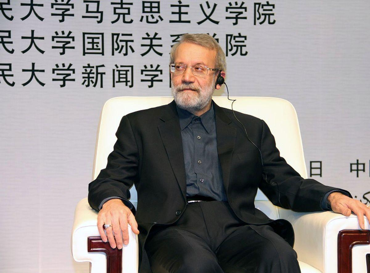 لاریجانی: نگاه ایران و چین در مسایل بین المللی مشابه است
