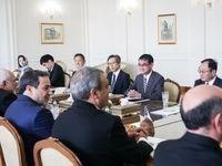 دیدار وزرای خارجه ایران و ژاپن +تصاویر