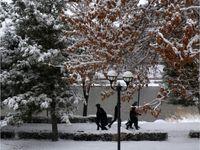 تداوم بارشهای زمستانی در ارومیه +تصاویر