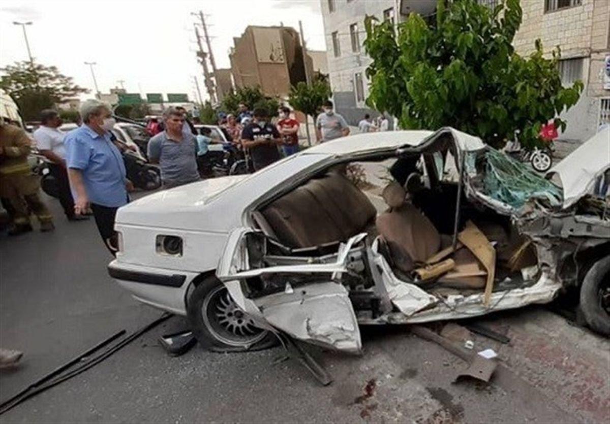 ۵ کشته و ۱۳ مجروح در تصادفات جاده ای استان فارس