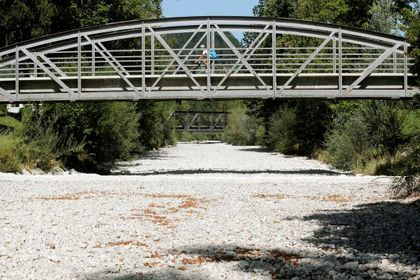 خشکسالی کم سابقه در اروپا +تصاویر