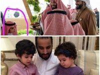 بن سلمان از پسر بزرگ خود رونمایی کرد +عکس