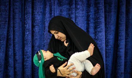 همایش شیرخوارگان حسینی در تهران +عکس