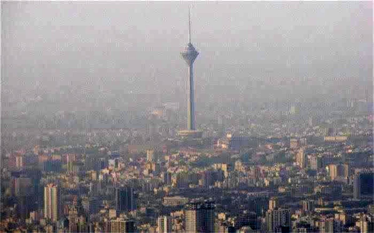 کاهش کیفیت هوا در تهران و البرز