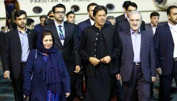 نخست وزیر پاکستان وارد تهران شد