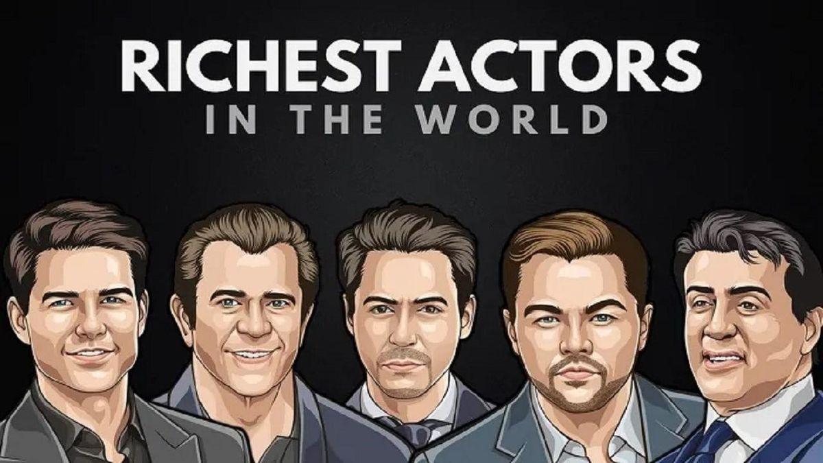 ثروتمندترین بازیگران جهان را بشناسید + عکس