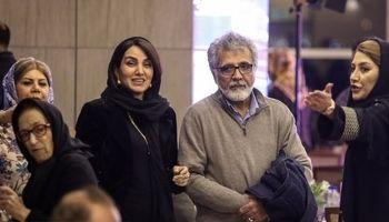 بهروز افخمی و همسرش در شب کارگردانان سینما +عکس