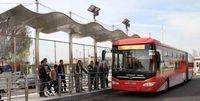 اجرای طرح فاصلهگذاری اجتماعی در اتوبوسها