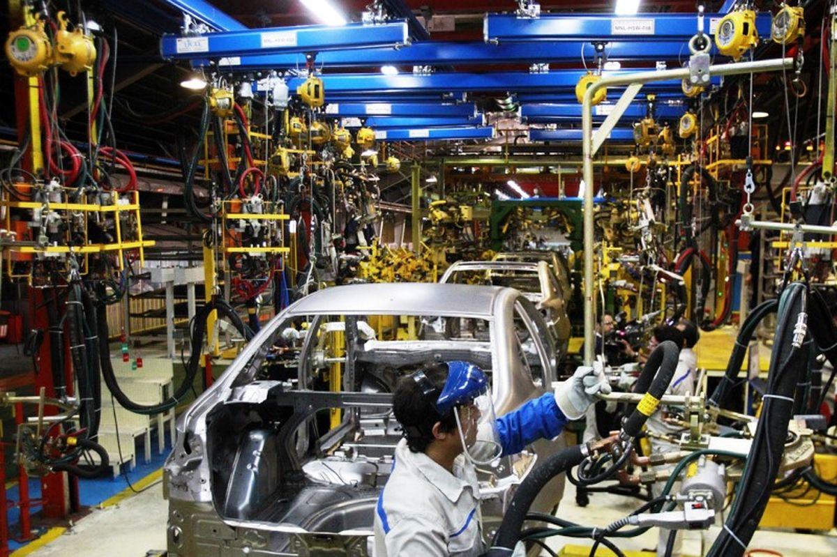 کاهش 38درصد فروش جهانی خودروسازان ژاپنی