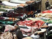 فعالیت 24 ساعته گرمخانهها در روز برفی پایتخت
