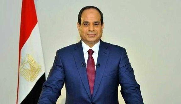 موضع گیری خصمانه رئیس جمهور مصر علیه ایران