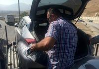 کشف کالای قاچاق از داخل خودروهای وارداتی +عکس